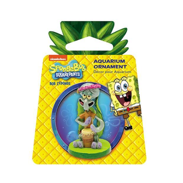 Penn Plax Spongebob Squarepants Squidward Mini Resin Replica Each Pet: Fish Category: Fish Supplies ...