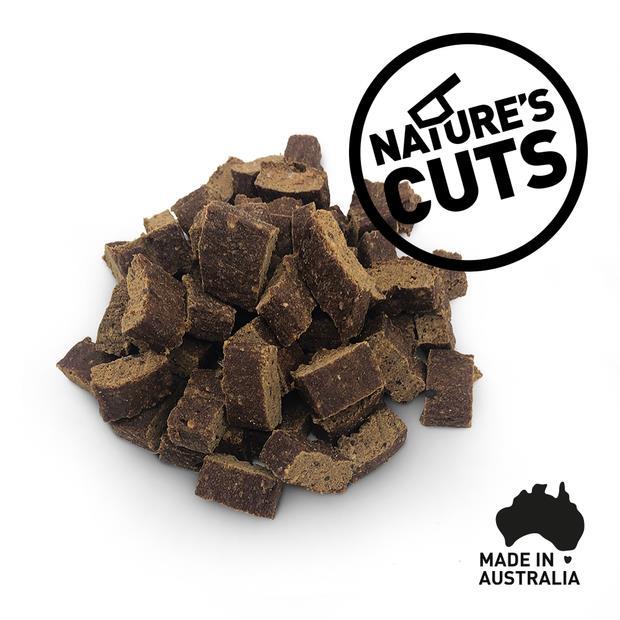 Natures Cuts Kangaroo Training Treats 500g Pet: Dog Category: Dog Supplies  Size: 0.5kg  Rich...