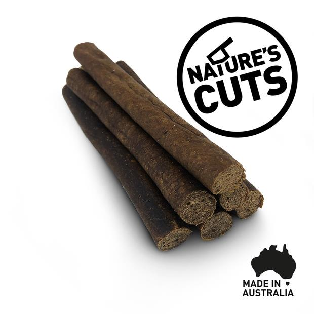 Natures Cuts Kangaroo Sausages 600g Pet: Dog Category: Dog Supplies  Size: 0.6kg  Rich Description:...