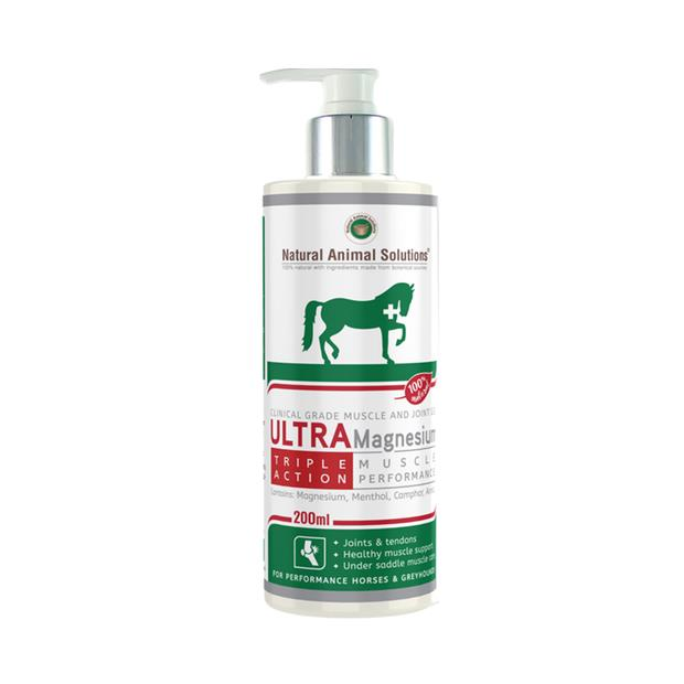 Natural Animal Solutions Ultramagnesium Gel 200 Ml Pet: Horse Size: 0.1kg  Rich Description: Operating...