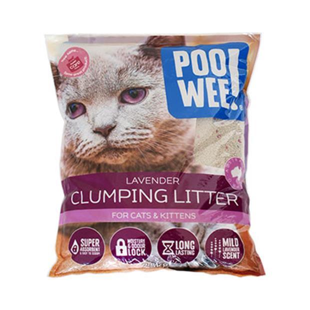 Poowee Litter Clumping Lavender 7.5kg Pet: Cat Category: Cat Supplies  Size: 7.5kg  Rich Description:...