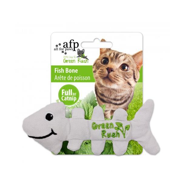Afp Green Rush Fish Bone Cat Toy Each Pet: Cat Category: Cat Supplies  Size: 0kg  Rich Description: The...