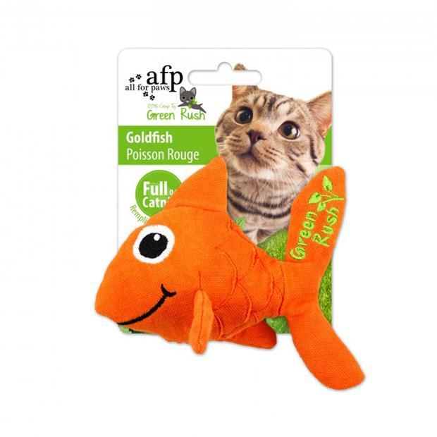 Afp Green Rush Goldfish Cat Toy Each Pet: Cat Category: Cat Supplies  Size: 0kg  Rich Description: The...