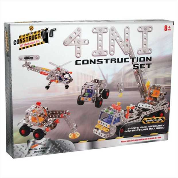 Made from sturdy metal plate. Learn basic engineering concepts while creating and having fun on your...