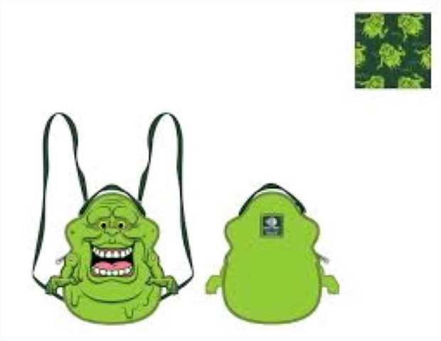 Loungefly - Ghostbusters - Slimer Convertible Backpack