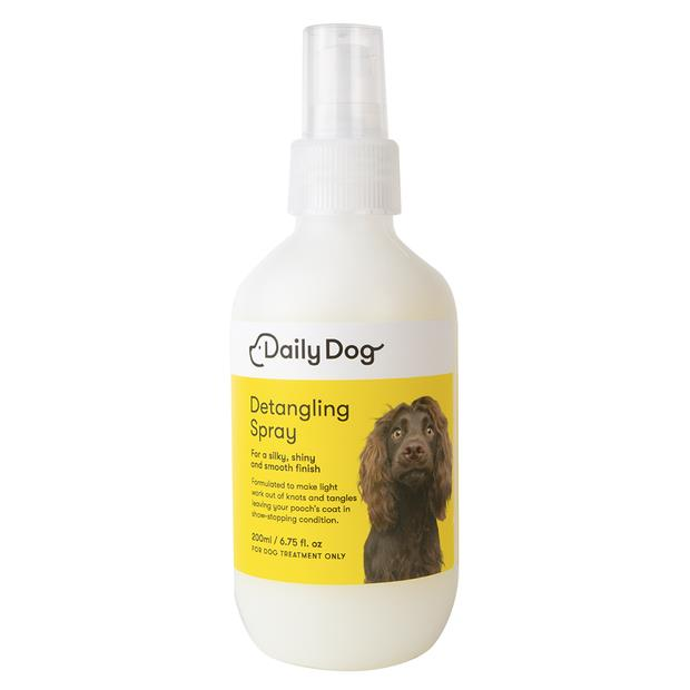 Daily Dog Detangling Spray 200ml Pet: Dog Category: Dog Supplies  Size: 0.2kg  Rich Description: Daily...