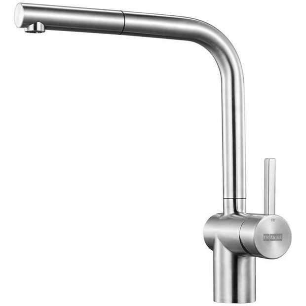 Stainless Steel finish Pull Out style 180 tap swivel 500 Maximum Pressure 5 WELS Star Rating Style:...