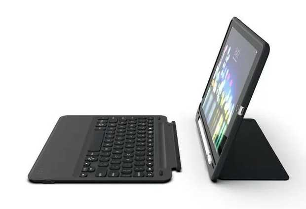 For 10.2-inch iPad Lightweight, Portable Design Multi-device Pairing Detachable Keyboard for Multiple...