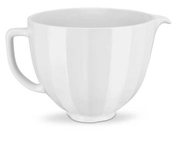 For Tilt-Head Stand Mixers Matte, low-shine glaze Three-dimensional lines Creates an understated...