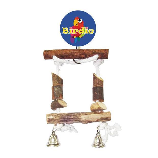Birdie Small Block Swing With Bells Each Pet: Bird Category: Bird Supplies  Size: 0.2kg  Rich...