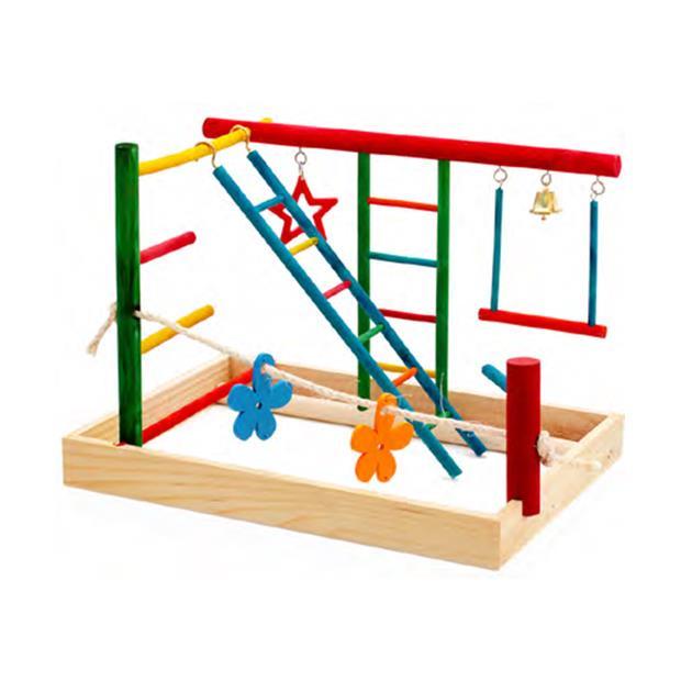 Birdie Play Gym Centre Medium Pet: Bird Category: Bird Supplies  Size: 0.5kg  Rich Description:...