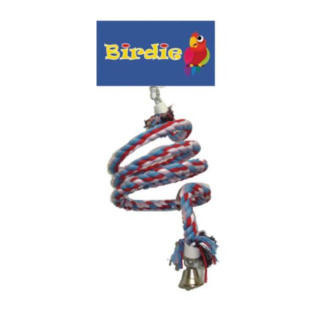 Birdie Jumbo Rope Spiral Each Pet: Bird Category: Bird Supplies  Size: 0.2kg  Rich Description:...