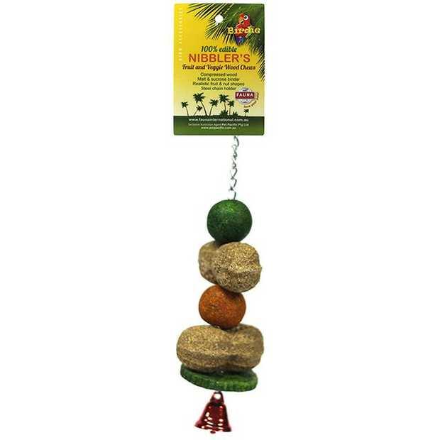 Birdie Nibbler Peanut And Melon Ball Kabob Small Pet: Bird Category: Bird Supplies  Size: 0.1kg  Rich...