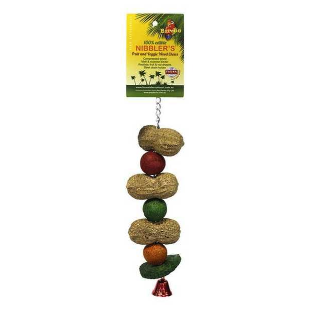 Birdie Nibbler Capsicum And Fruit Kabob Small Pet: Bird Category: Bird Supplies  Size: 0.1kg  Rich...