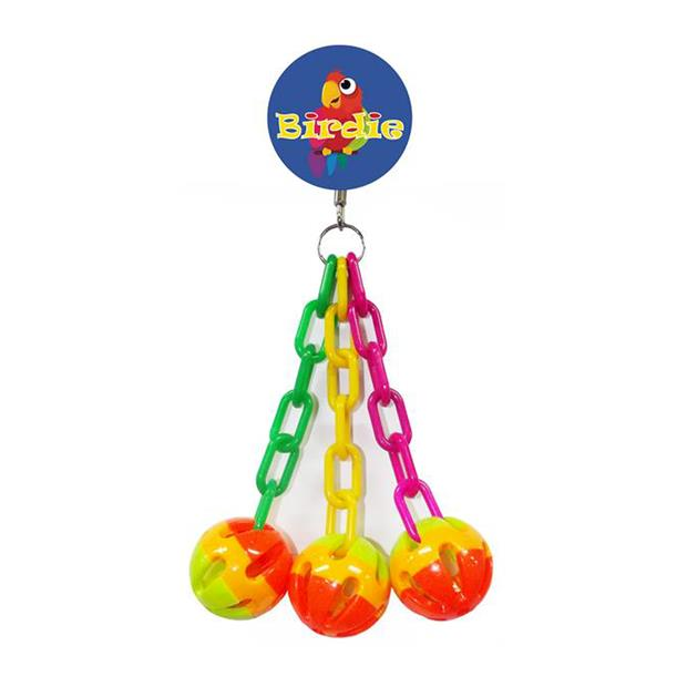 Birdie Medium 3 Balls And Chains Each Pet: Bird Category: Bird Supplies  Size: 0.2kg  Rich Description:...