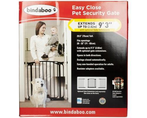 BINDABOO SECURITY GATE BLACKFor added peace of mind, install a Bindaboo Security gate into your house.