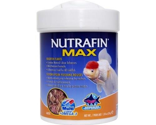Nutrafin Max Goldfish Flakes | 38g  Packed with vitamins and made with a nutrient rich...
