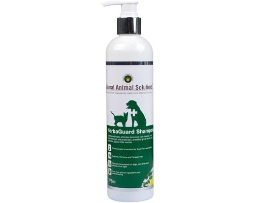 NATURAL ANIMAL SOLUTIONS HERBAGUARD SHAMPOO 375MLNo chemicals or pesticides inside, just plain herbal...