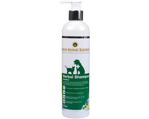 NATURAL ANIMAL SOLUTIONS SENSITIVE SHAMPOO 375MLUsing only 100% natural ingredients, Natural Animal...