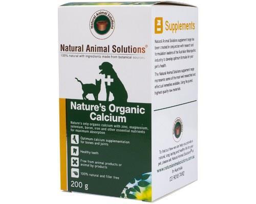 NATURAL ANIMAL SOLUTIONS NATURE'S ORGANIC CALCIUM 200GNature's Organic Calcium is the only 100%...