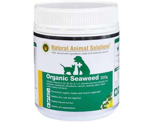 NATURAL ANIMAL SOLUTIONS ORGANIC SEAWEED 300GHand harvested from King Island in Tasmania, Nature's...
