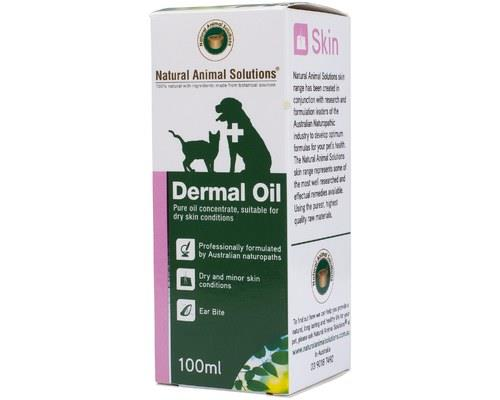 NATURAL ANIMAL SOLUTIONS DERMAL OIL 100MLIf your pet has experienced a nasty skin infection or has...