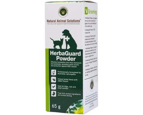 NATURAL ANIMAL SOLUTIONS HERBAGUARD POWDER 65GNo chemicals or pesticides inside, just plain herbal...