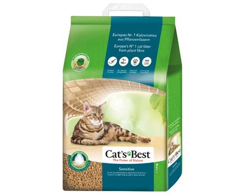 CATS BEST SENSITIVE CAT LITTER 7.2KGTake care of your cat's hygiene with Cat's Best Sensitive Cat...