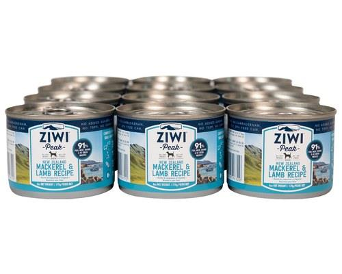 ZIWIPEAK MACKEREL & LAMB DOG FOOD 12X170GSlab of 12A single-protein option for pets with protein...