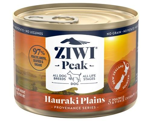 ZIWIPEAK PROVENANCE HAURAKI PLAINS DOG 170GCombining poultry and wild-caught fish in a specially...