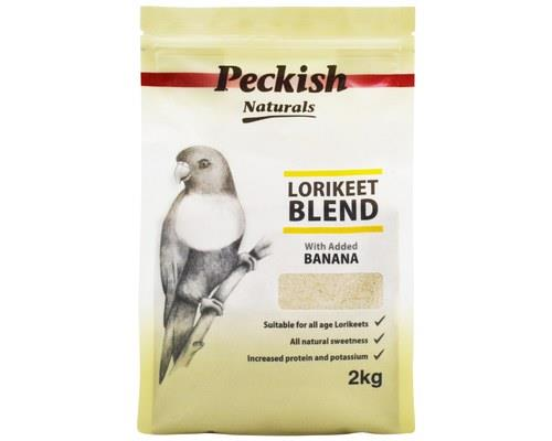 PECKISH LORIKEET BLEND - BANANA 2KGLories and Lorikeets of all ages will find this bird feed very...