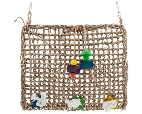 Penn Plax Natural Weave Climbing Mat This is a whole mat that's essentially one gigantic kabob. The...