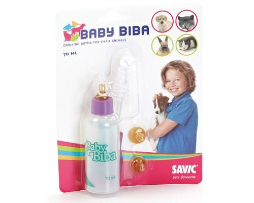 SAVIC BABY BIBA BOTTLE PACK - 70mlIt's a little milk bottle specially designed for the itsy bitsy...