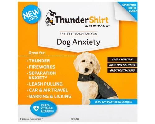 Thundershirt Dog Anxiety Jacket, Heather Grey, Extra SmallSize:Extra SmallChest...