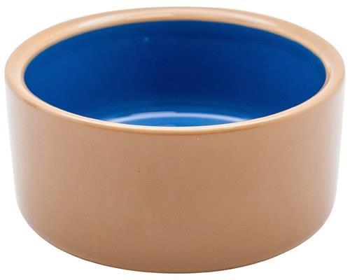 Masterpet Stoneware Dog Bowl, Brown, SmallSize:13cm acrossThis stoneware dog bowl has a classic...