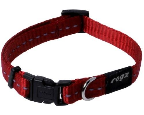 ROGZ NITE LIFE COLLAR RED REFLECTIVE SMALLMade from nylon webbing this dog collar is stylish and...