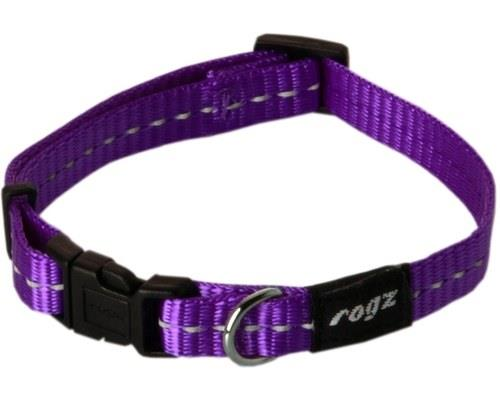 ROGZ NITE LIFE COLLAR PURPLE REFLECTIVE SMALLMade from nylon webbing this dog collar is stylish and...