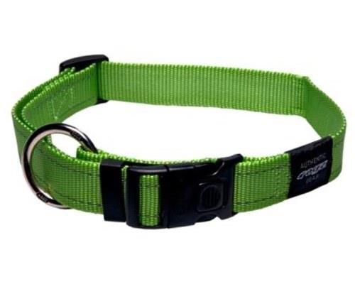 Rogz Dog Collar, Reflective Lime, Fanbelt / LargeA reflective dog collar ensures that your...