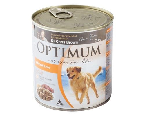 OPTIMUM DOG BEEF EGG RICE 700GM  For adult dogs 1 years +  Just like us, what a dog eats has a powerful...