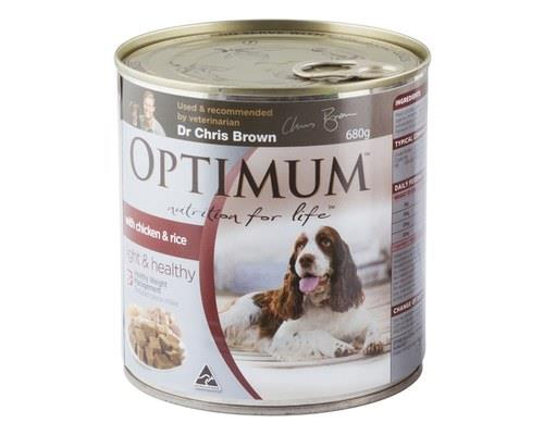 OPTIMUM DOG WEIGHT 680GM  For overweight adult dogs 1 years +  Some dogs are naturally prone to putting...