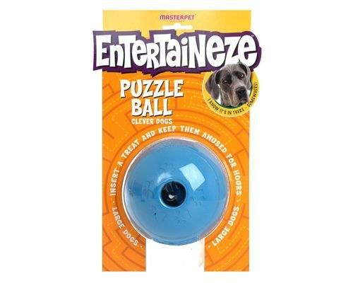 Entertaineze Dog Puzzle Ball, LargeSize:Large, 11cmRecommended for:Largedogs over...