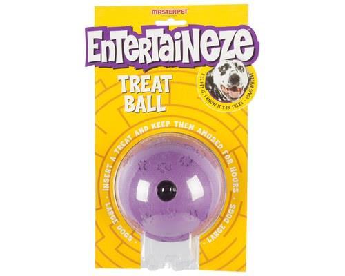 Entertaineze Dog Treat Ball, LargeSize:Large, 11cmRecommended for:Mediumdogs...