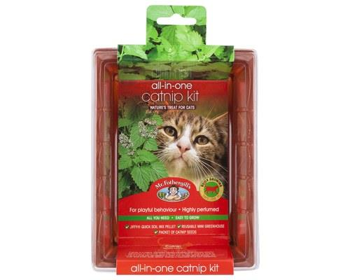 Mr Fothergill's All-in-One Grow Your Own Catnip KitPackaged size: 18cm L x 13.5cm W x 6.5cm HCatnip is...