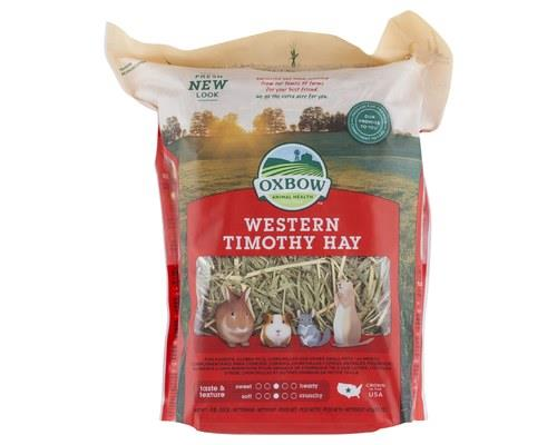 Oxbow Western Timothy Hay Small, 425gWestern Timothy hay provides high quality nutrition and a fresh...