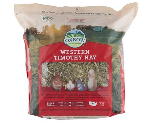 Oxbow Western Timothy Hay Medium, 1.13kgWestern Timothy hay is a staple grass hay that provides high...