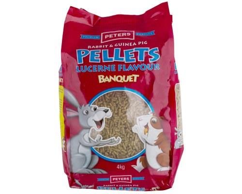 PETERS LUCERNE PELLETS (4KG)   Being tiny little pellets with bursts of fresh and leafy...