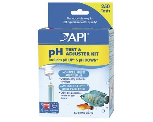 API | pH Test & Adjuster Kit       The pH of a liquid refers to it's level of acidity and...