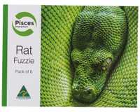 PISCES RATS FUZZIES 6 PACK~Feeding your reptile, bird of prey or lizard doesn't need to be a hard task.