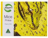 PISCES PINKIES MICE 20 PACK~Feeding your reptile, bird of prey or lizard doesn't need to be a hard...