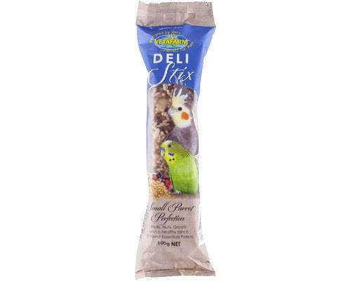 Vetafarm Delistix Small Parrot Perfection, Bird Treat Bar, 100gBest of Both Worlds Delistix are bird...